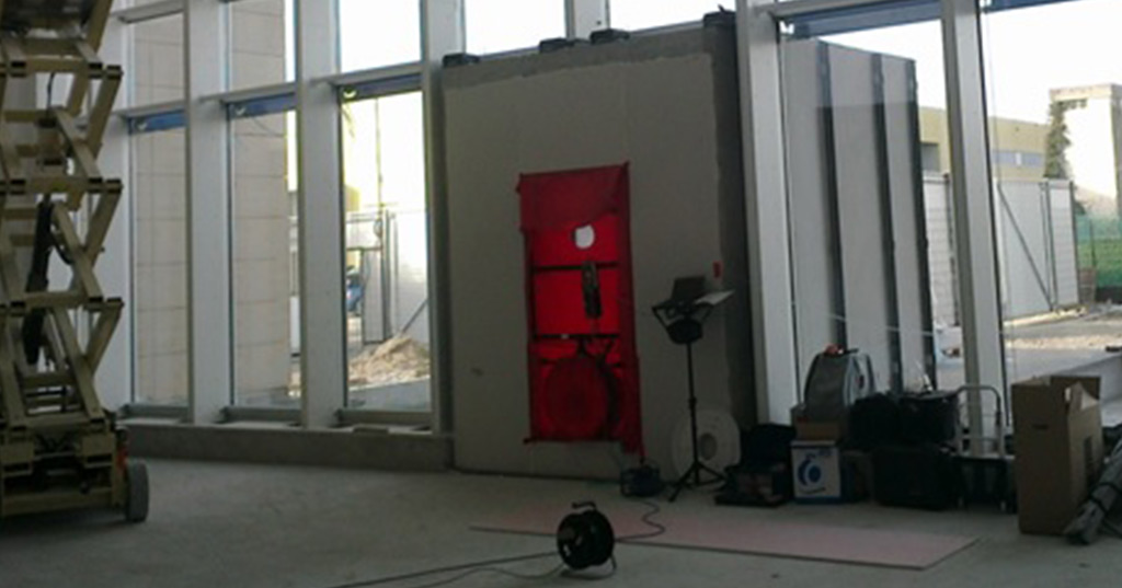 Blower-door test - Scantec
