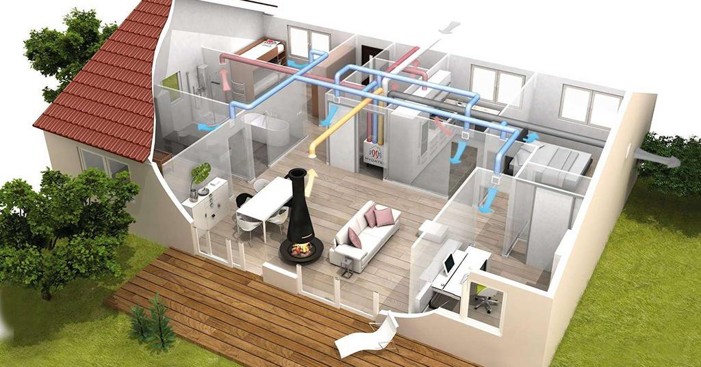 Bilanciamento dell'impianto di ventilazione meccanica controllata - Scantec